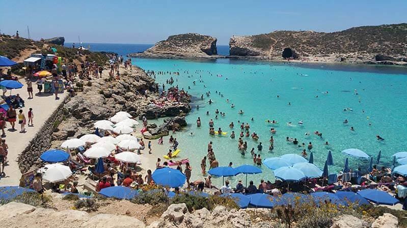 """""""Comino Beach on Gozo"""""""