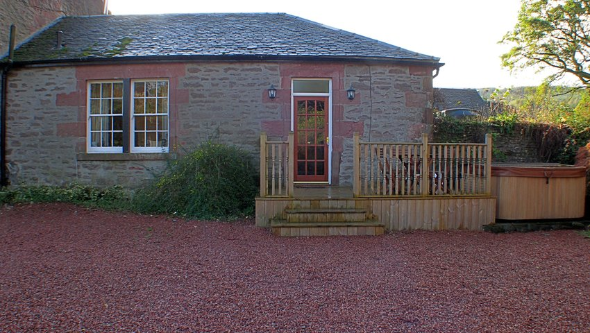 Main entrance to rose cottage