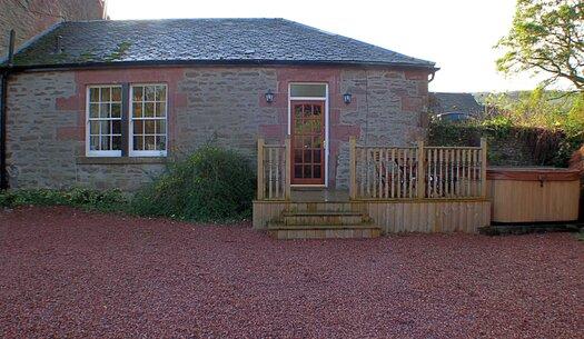 Main entrance to rose cottage
