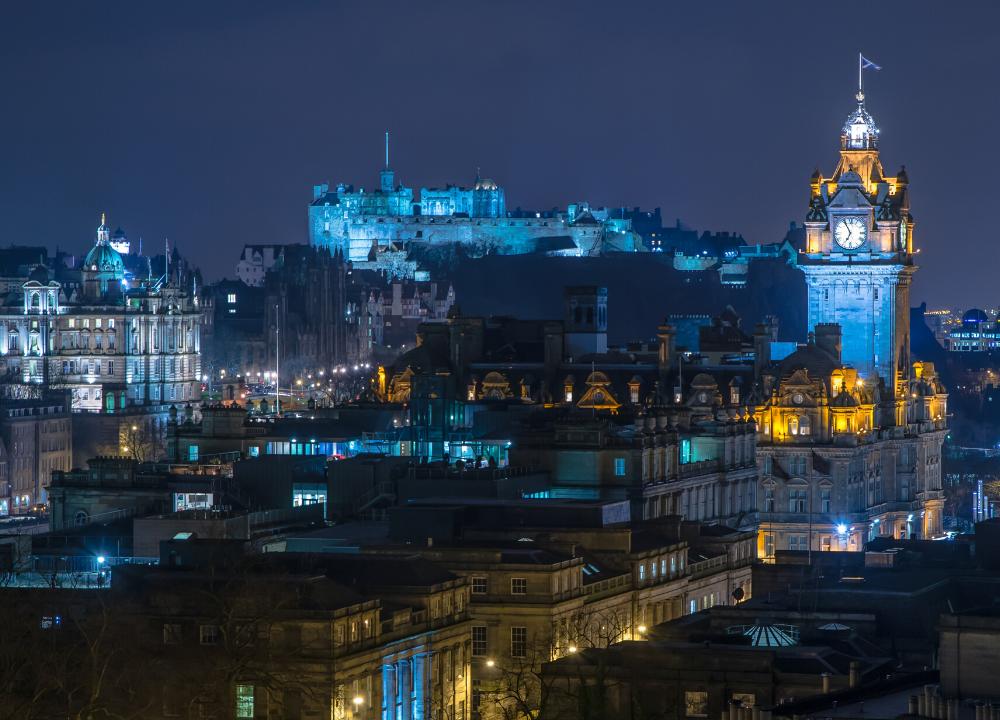 A door into Scotland: Edinburgh Edition