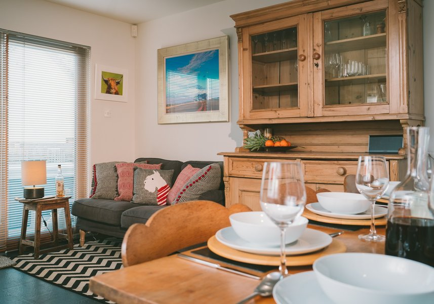 The Shambles - Luxury Lodge in Aviemore with hot tub and BBQ hut