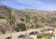 view to mountain bw