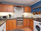 Hart Street Apartment-13 - Family kitchen with washing machine in Edinburgh holiday let