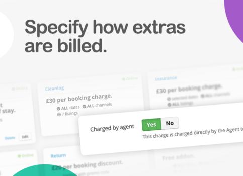 Specific how extras are billed