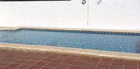 patio pool area