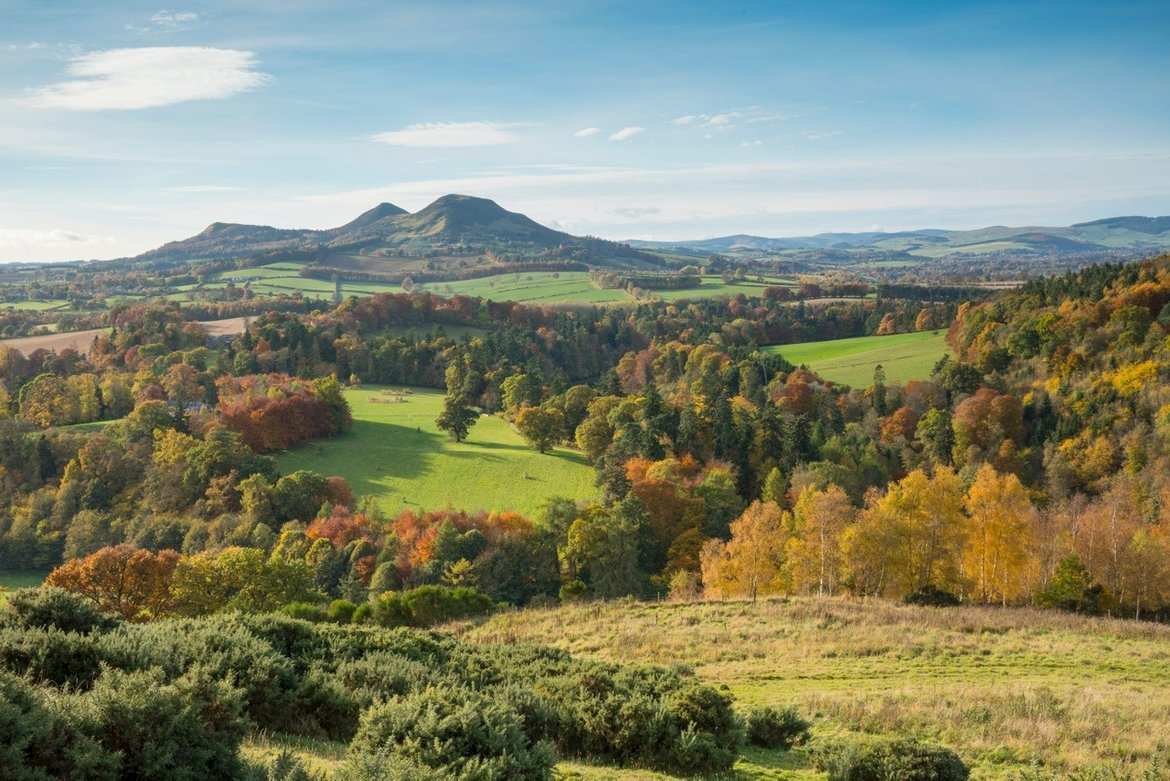 EILDON HILL - Bonnies Chronicles – Campervan Tails from the road (© VisitScotland / Kenny Lam)