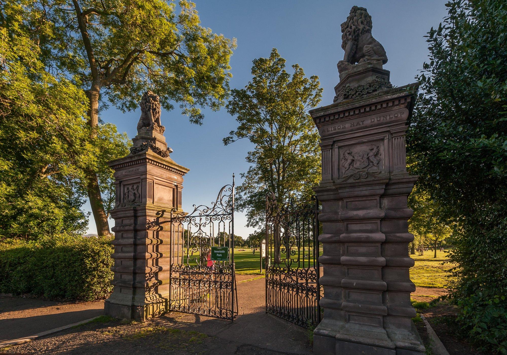 Local Area - Inverleith Park (© The Edinburgh Address)