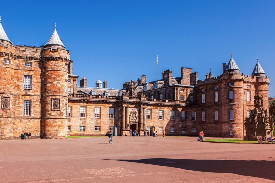 Holyroodhouse - Royal Mile - Queen residence