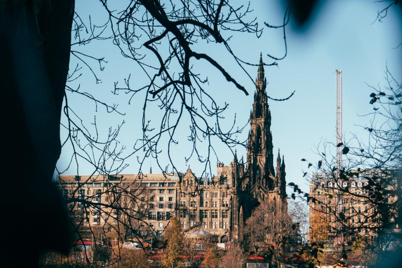 Edinburgh Christmas 2020