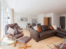 Shandwick Place 2 - Spacious open plan family living/dining area with sofa bed