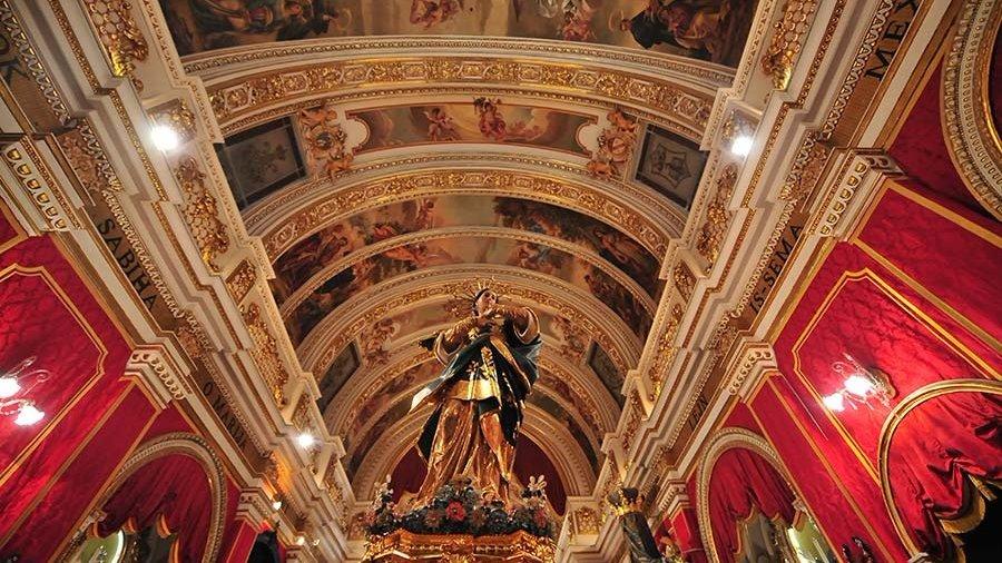 St Francis Church Rabat Gozo