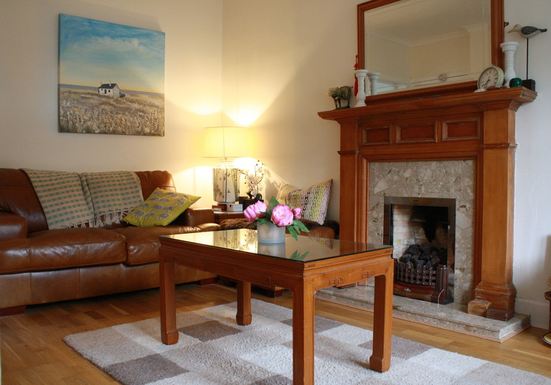 Gullane Holiday flat - Putters Par comfy sitting room