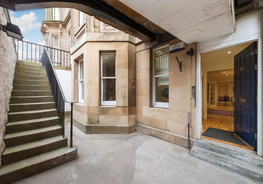 Drumsheugh Gardens Apartment Entrance