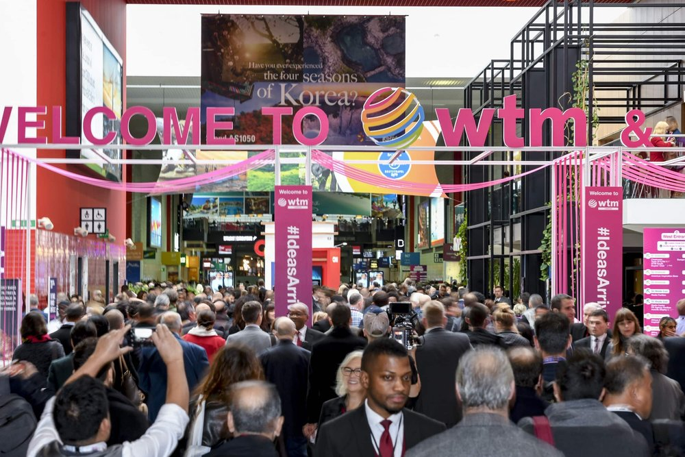 WTM 2018 Welcome - Attendees of the WTM 2018