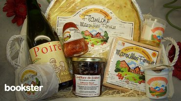 Welcome pack for holiday rentals - An example welcome pack for holiday rentals. Guests will love this attention with delicious local products.