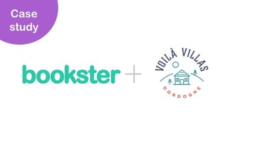 Case Study Bookster and Voilà Villas Dordogne - Voilà Villas Dordogne talk through their experiences of working with Bookster property management platform with integrated channel manager and custom website.