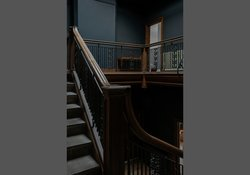 Highland Mansion Hall staircase