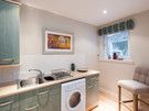 Parkgate (Holyrood Road) 4 - Modern family kitchen with all the necessary kitchen utensils and decorative wall art