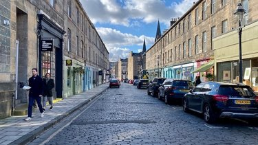 Photo of Hidden Gem: William Street, Edinburgh