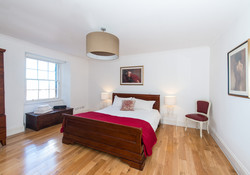 Albany Street Townhouse Master Bedroom