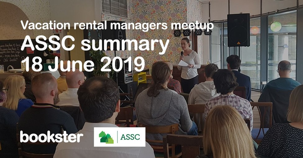 Vacation Rental Managers Meetup with ASSC - Fiona Campbell presenting at the Vacation Rental Managers Meetup in Edinburgh, Scotland