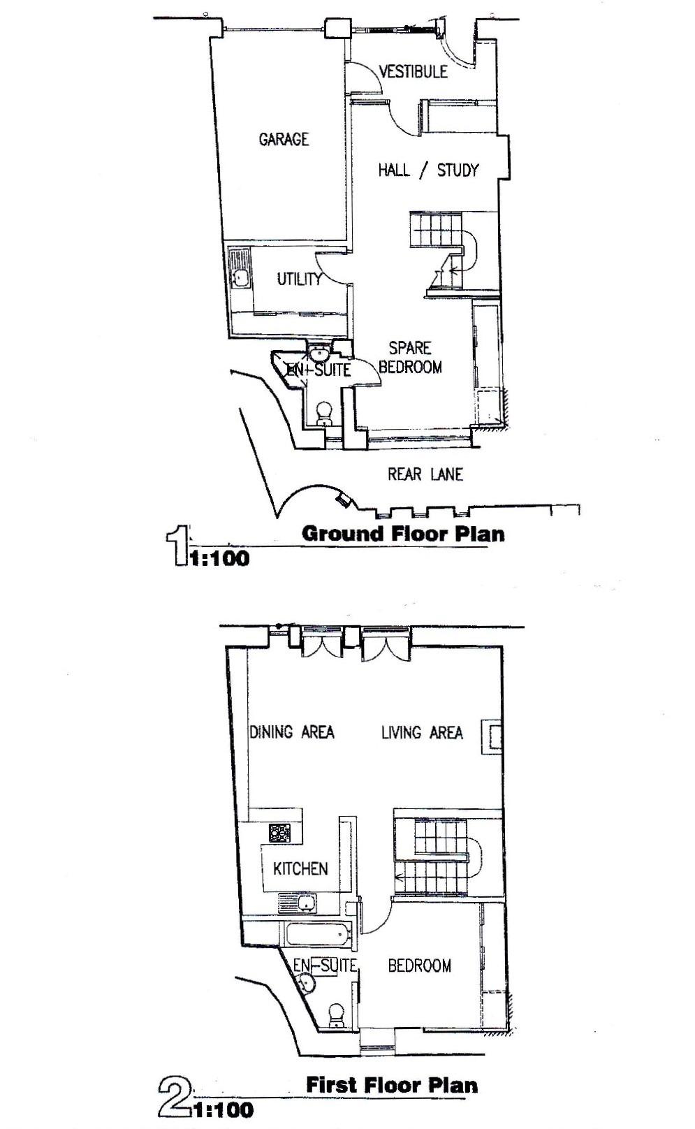 The Edinburgh Mews Floor Plan (© The Edinburgh Address)