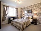 Second Double Bedroom - The second of our lovely Double Bedrooms providing Fresh Linen, Dressing Table/Stool/Mirror Wardrobe space,Hair Drier and 100% Egyptian Cotton Luxury Towels.