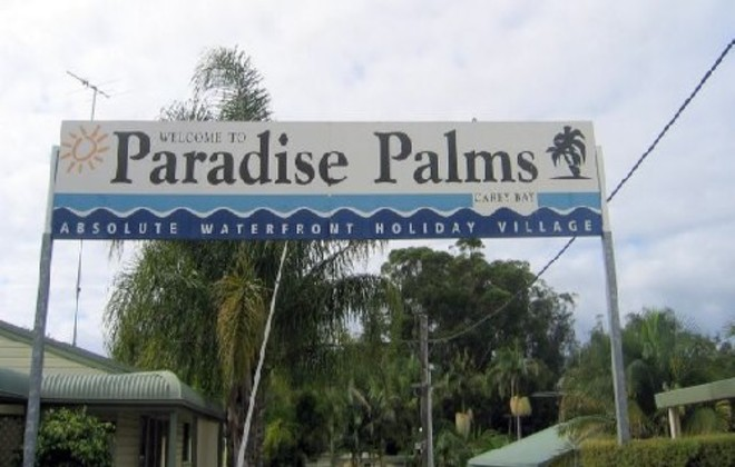 Picture of Paradise Palms @ Carey Bay, Lake Macquarie