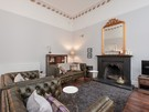 CornwallSt-6 - Spacious family living room with traditional fireplace in Edinburgh holiday let