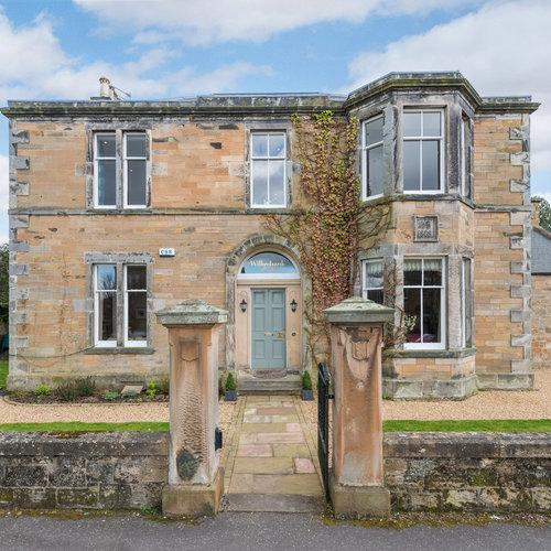 Large stone house in Dalkeith near Edinburgh