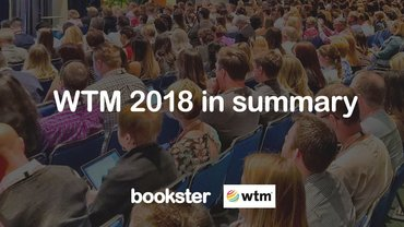 Bookster at WTM 2018 summary - People listening at WTM 2018