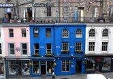 Picture of West Bow (Victoria St) just off Royal Mile, Lothian, Scotland