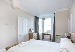 Stnning seaviews from this holiday home in North Berwick