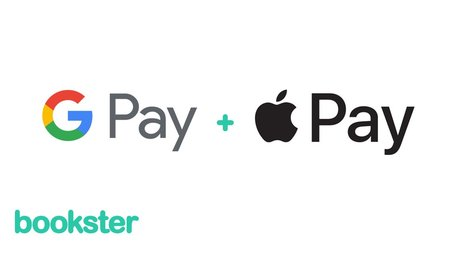 Apple Pay and Google Pay - New guest payment options through Bookster property management system for vacation rentals