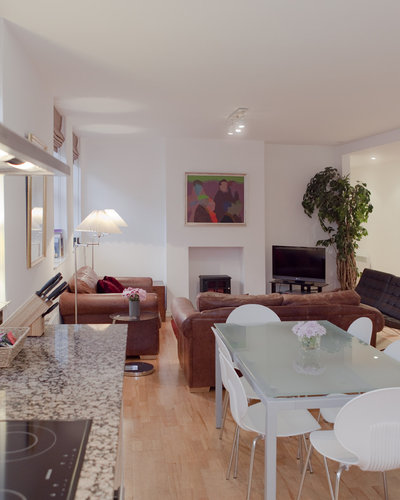 Open Plan Kitchen/Dining Room/Sitting Room - Very spacious open plan kitchen/dining room/sitting room. (© The Edinburgh Address)