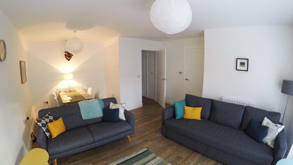 Brunswick Holiday apartment - Lounge