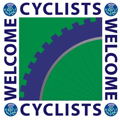 Cyclists Welcome at igloo - Visit Scotland Cyclists Welcome