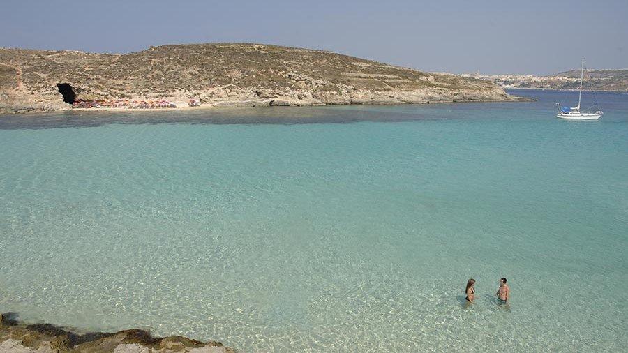 """Blue Lagoon on Gozo"""