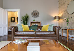 Castle View Apartment Living room 18