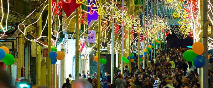 """Christmas Street Decorations Gozo"""