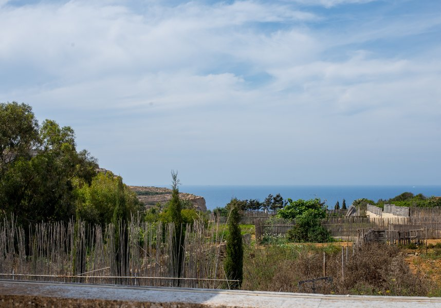 Beautiful views from the villa in Gozo
