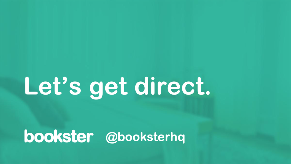 Let's Get Direct presentation - Lyle Markle (Art Director) and Robin Morris (Director) from Bookster presenting tips and techniques to attract Direct Bookings
