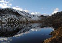 Top fo Grey Mares Tail Walk Loch Skeen