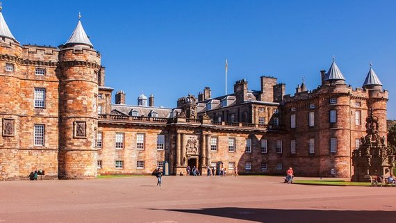 Wander inside the unique Palace of Holyroodhouse