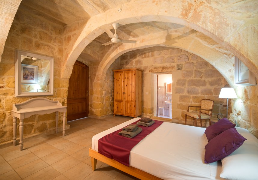 Luxury bedroom for your Gozo holidays