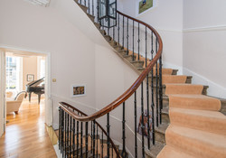 Albany Street Townhouse Staircase