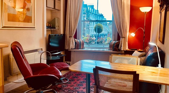 Upper Bow 1 - Comfortable holiday home in the heart of the Old Town in Edinburgh.