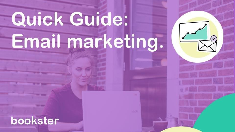Quick video guide: Email Marketing - A quick video guide to Bookster Email Marketing tool.