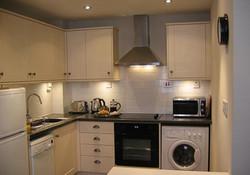 Castle View Apartment Kitchen