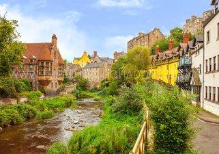 Dean Village in all its splendor - Edinburgh